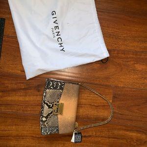 Brand New Givenchy Python purse